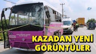 Sakarya'daki Feci Otobüs Kazasının Yeni Görüntüleri Ortaya Çıktı