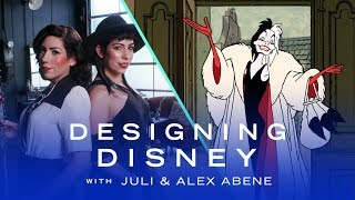 Twins Get Inspiration From Disney Villains for Their Designs | Designing Disney by Disney Style