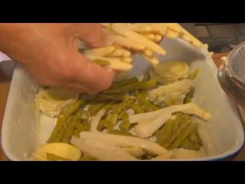 recette-de-jean-pierre-coffe-:-le-gratin-d'asperges-et-de-fonds-d'artichauts