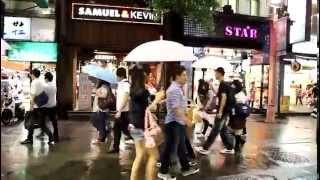 台灣大型廣播電視牆感人求婚記