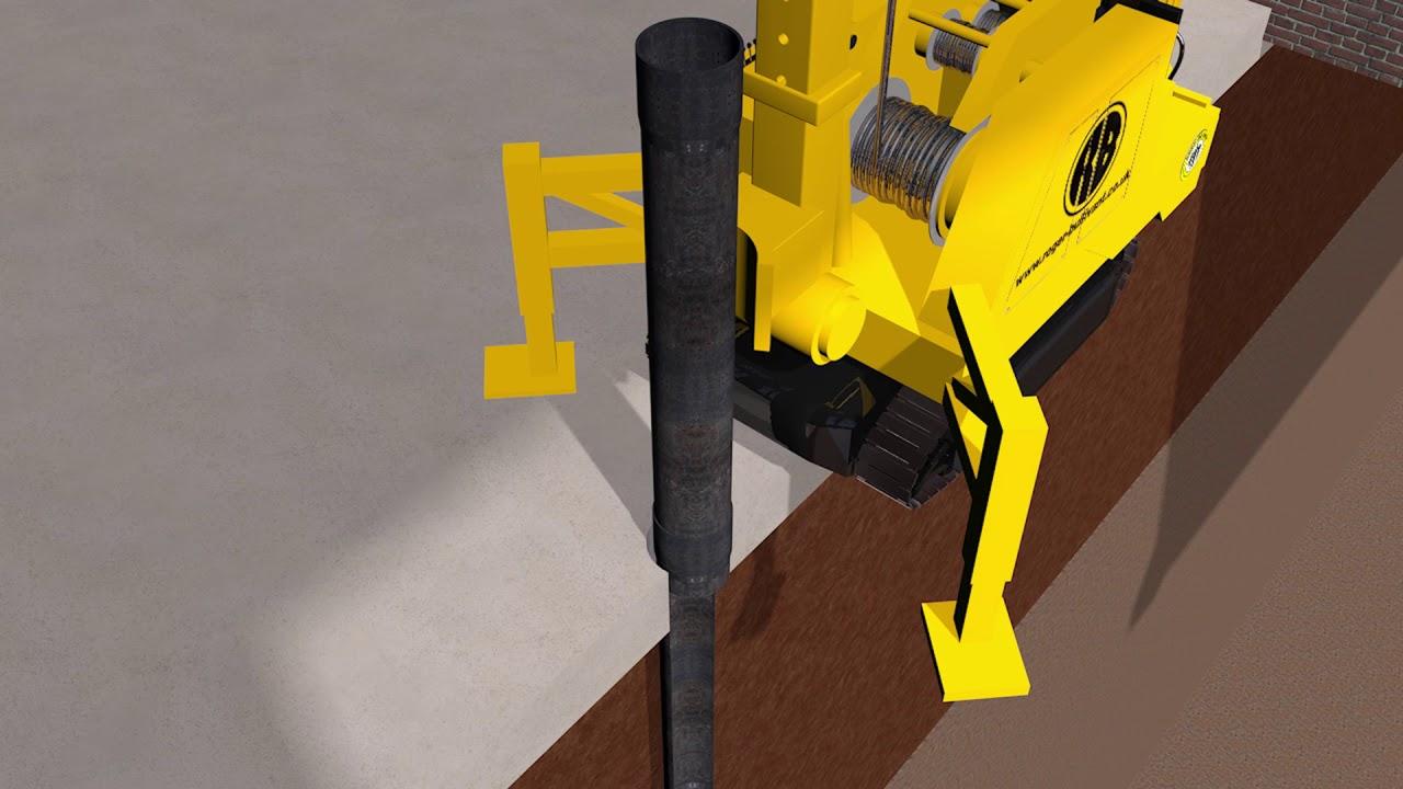 Roger Bullivant- Bottom Driven Pile 3D [Sam Taylor Design]