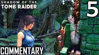 Shadow Of The Tomb Raider Walkthrough Part 5 - First Challenge Tomb Underworld Gate (PS4 Gameplay)