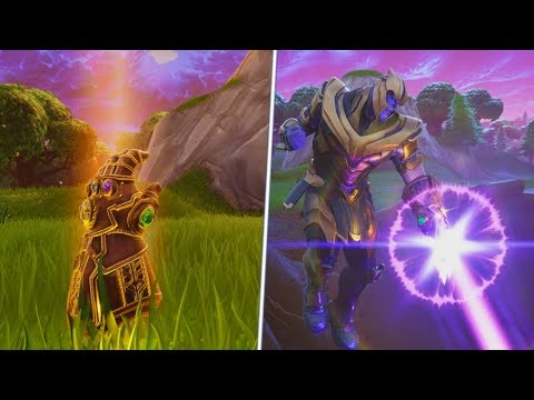 "How To Become ""THANOS"" Nearly Every Game.. Fortnite Infinity Gauntlet Mode!"