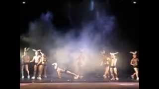 """Театр танца """"Искушение"""", шоу под дождем 2 """"Дышу тобой"""""""