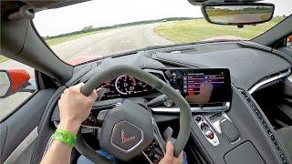 2021 Chevrolet Corvette Z51 - POV Track Drive (Gingerman Raceway)