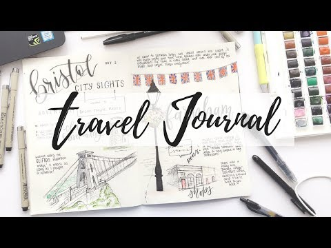 Travel Journal: Doodle With Me | ink & watercolour | studywithmaggie