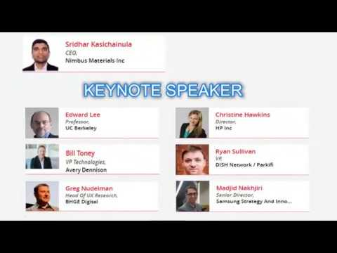 Check out the speakers lineup for Global IoT Conference April 2018