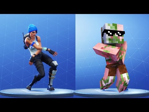 Monster School : Fortnite Dance Challenge 4 - Minecraft Animation thumbnail