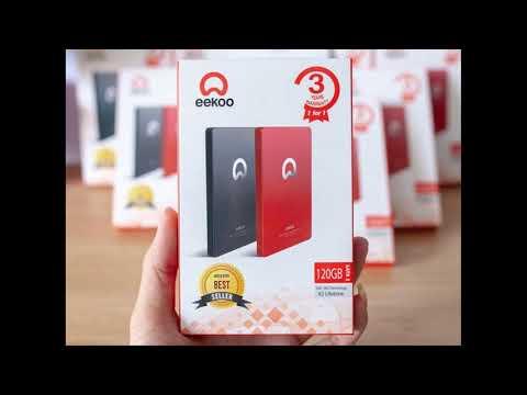 Ổ cứng SSD EEKOO 120G, SSD EEKOO 128G, SSD EEKOO 256G, SSD EEKOO 512G chính hãng, bảo hành 36T