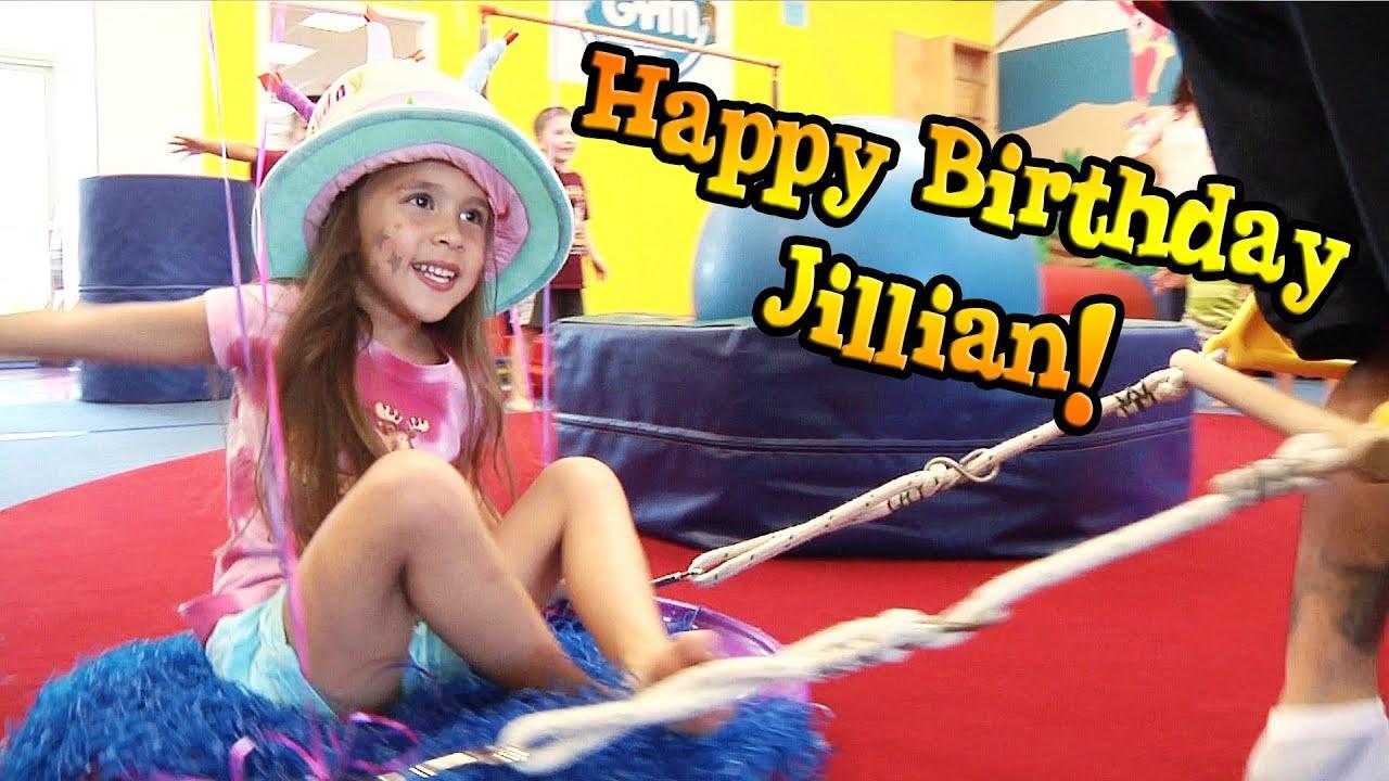 Jillians 5th Birthday Party At MY GYM