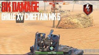 8K Grille Game & Chieftain Nail Biter World of Tanks Blitz