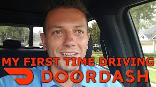 Documenting My First DoorDash Drive
