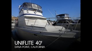 Used 1984 Uniflite 41 Yacht Fisherman for sale in Dana Point, California