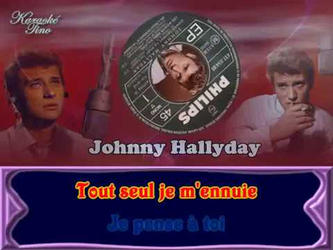 karaoke tino johnny hallyday quand revient la nuit youtube. Black Bedroom Furniture Sets. Home Design Ideas