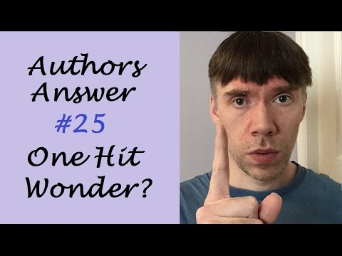 One Hit Wonder or Prolific Author? | Authors Answer #25
