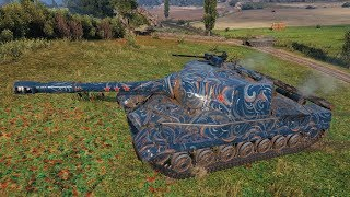 WoT Object 268 Who Would Suspect That You Can Play Like That in Tank Destroyer ?!?!?!