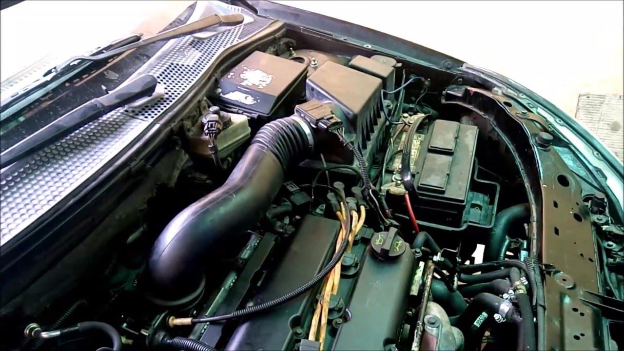 Focus zx3 sensor de temperatura de cilindro relevadores ventiladores afnacion youtube