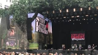 "STIFF LITTLE FINGERS ""Suspect Device"" LIVE @ Hyde Park BST 01/07/17"