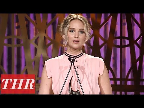 Jennifer Lawrence Full Acceptance Speech at The Hollywood ...