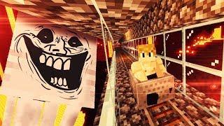 ZROBIŁEM KOLEJKĘ W NETHERZE [ABSOLUTE MAD LAD] | Minecraft #19