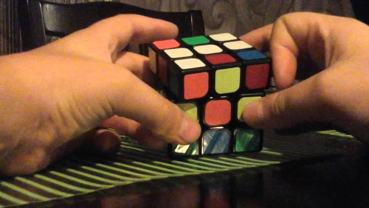 видео сборка кубика рубика 3х3 для начинающих