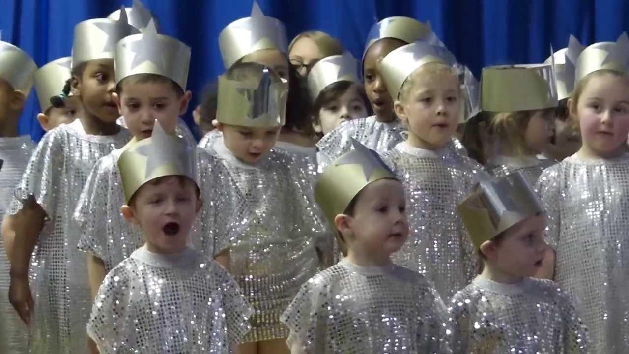Carol singing at school - YouTube