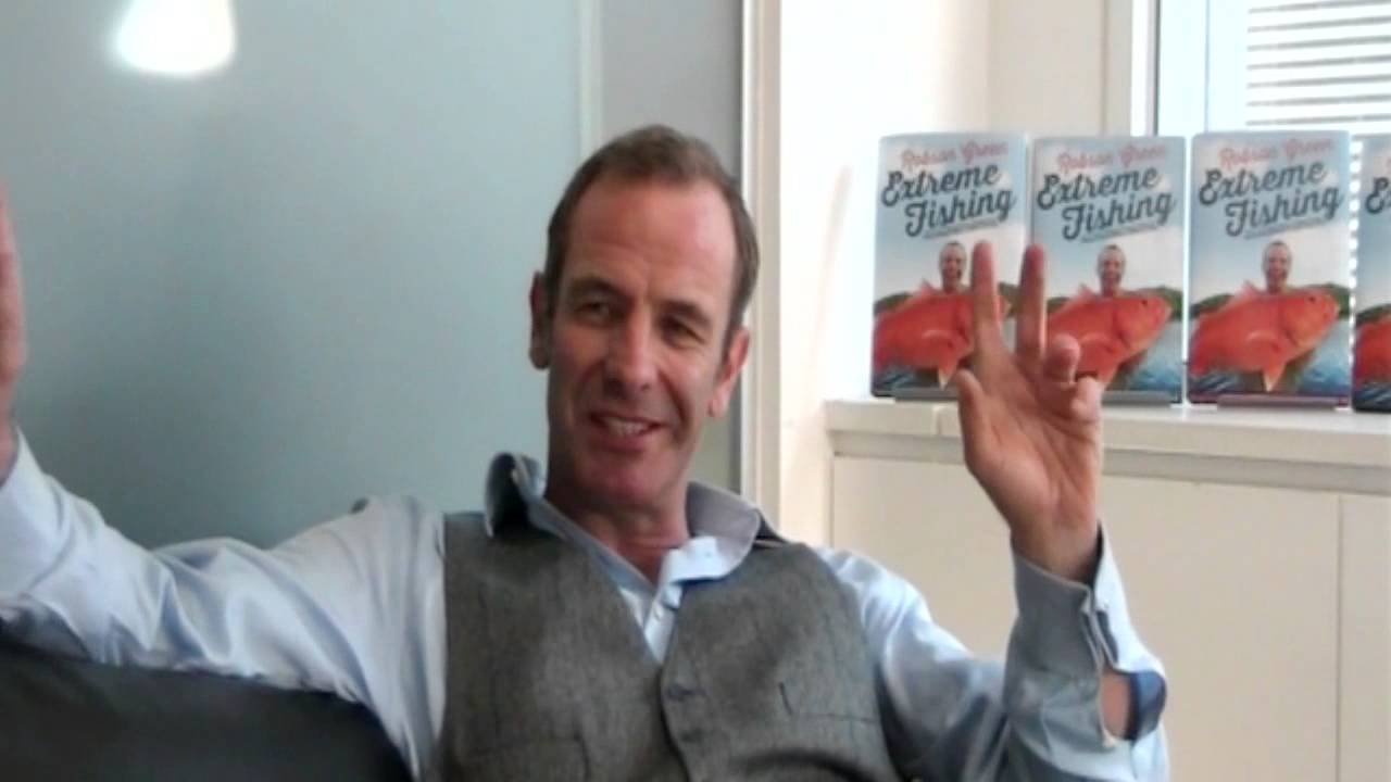 Robson Green discusses EXTREME FISHING - YouTube