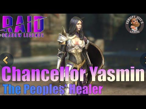 Raid Shadow Legends Chancellor Yasmin Champion Review
