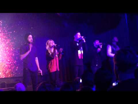 Pentatonix singing Mary Did You Know live for the first time~