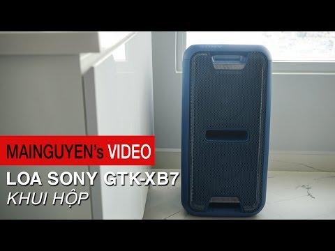 Khui thùng Sony GTK-XB7 - Sắc màu trẻ trung, âm thanh nổi bật