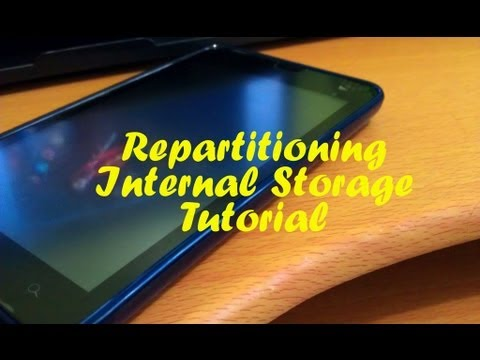 Repartitioning Internal Storage For MTK Devices