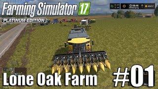 Farming Simulator 17 - Lone Oak farm - Timelapse # 1 - Getting Started