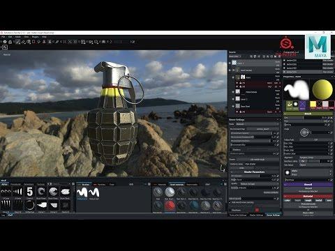 3D Modeling workflow part 1 of 3 : Modeling a hand grenade in Maya 2017