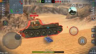 [Wot Blitz] Tiger II 5650dmg MASTERY ACE {20160607}