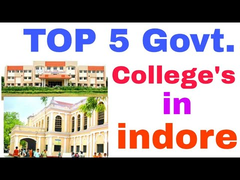 TOP 5 Best Government College In Indore. Indore के 5 Best College's।। BEST COLLEGE ।।