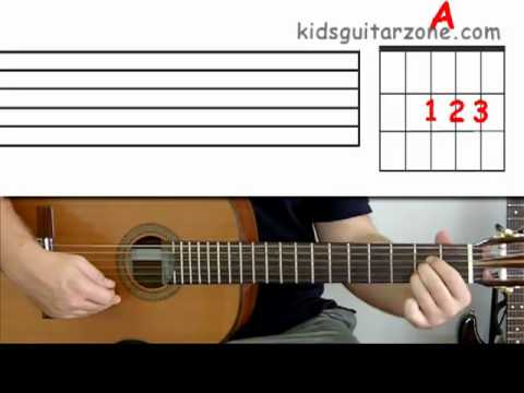 Guitar lesson 6 : Beginner -- How to play chords and read chord ...