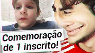 OS ENGRAÇADOS ESPECIAIS DE 1 INSCRITO DO YOUTUBE KKKK