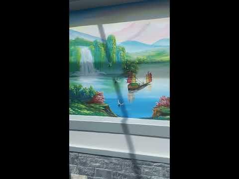Vẽ Tranh Tường 3D Tại Biên Hòa, Bình Dương,TPHCM-0966581851 Mr Hoàng