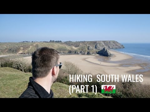 HIKING SOUTH WALES | OXWICH BAY & THREE CLIFFS BAY (Part 1) [AD]