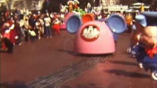 Walt Disney World Magic Kingdom Parade February, 1977