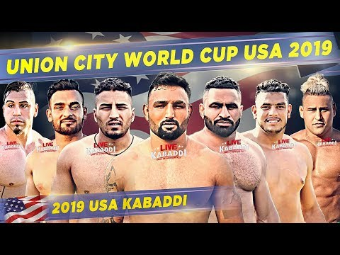 LIVE - Union City California Kabaddi Cup USA 2019