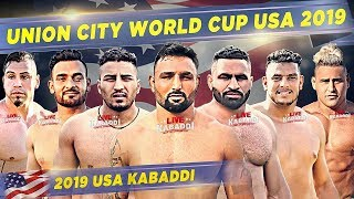 LIVE Union City California Kabaddi Cup USA 2019