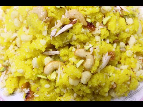 how to make suji ka halwa punjabi style