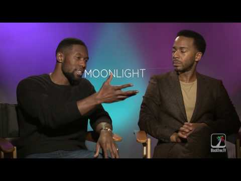 MOONLIGHT Interview W/ Trevante Rhodes And Andre Holland