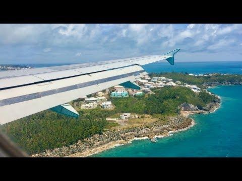 ✈ FLIGHT REPORT - Toronto To Bermuda - Air Canada A319 (AC942) YYZ-BDA
