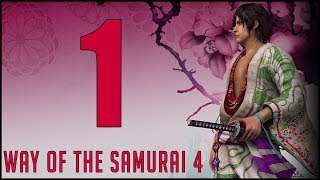 Way of the Samurai 4 [1] - Hands Off The Loli (Gameplay / Walkthrough) (PC)