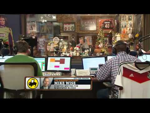 Mike Wise on the Dan Patrick Show 12/10/13