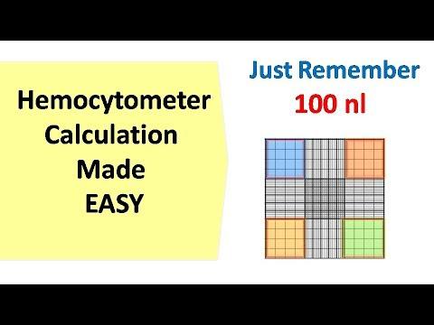 Hemocytometer | calculation made easy - YouTube