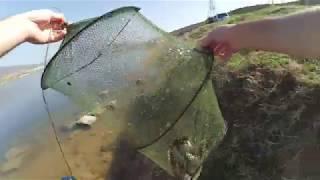 თევზაობა ტივტივაზე 2018 გლდანის ტბა / Рыбалка на карася 2018