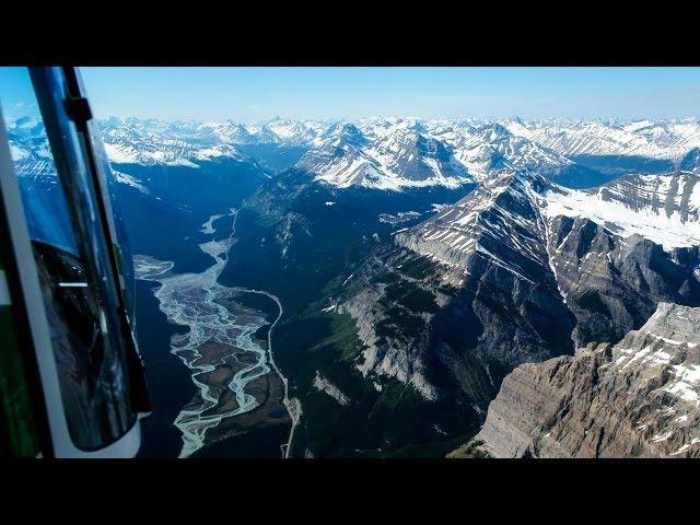 Vol d'hélicoptère au dessus des rocheuses à Banff! - [Vlog #3]